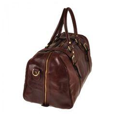 Pellevera,borse da viaggio in pelle,66T3011,a mano e tracolla,con manici,borsone.