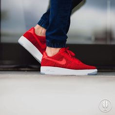 """Nike Air Force 1 Ultra Flyknit Low"" University Red 