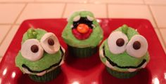 Cute Cut The Rop Cupcakes!! Om Nom - How to