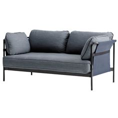 A well-designed sofa is probably the most important furniture piece in your living room. Take a look at Finnish Design Shop's selection of sofas, couches, daybeds and chaise longues, and invest in timeless Scandinavian design. Sofa Design, Hay Design, Interior Design, Sofa Furniture, Furniture Design, Danish Design Store, Structure Metal, Black Sofa, Comfortable Sofa