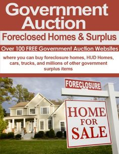Government Auctions: Cars, Foreclosed Homes and Surplus Sales - http://www.carhits.com/government-auctions-cars-foreclosed-homes-and-surplus-sales/ - CarHits