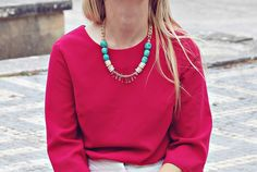Bali Necklace by BoutiqueMinimaliste on Etsy