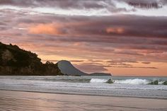 Whale Island from Ohope Beach