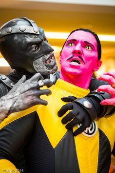 Attack on Sinestro - Green Lantern Corps #Cosplay | MegaCon 2014 #DC #Comics
