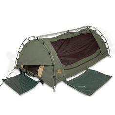 Sahara Explorer King Single Freestanding Dome Canvas Swag Camo