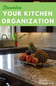 Simple steps to keep your kitchen organized. Wow, so easy!