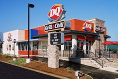 Dairy Queen® - First store opens in Joliet, IL in 1940. For more than 70 years, the DQ® system's recipe for success has been simple. It's been a combination of hardworking people who own and operate restaurants, and great-tasting food and tempting treats served in our establishments.