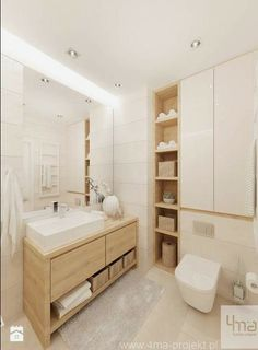 Bathroom Niche: Learn How To Choose And See Ideas With Photos - Home Fashion Trend Bathroom Niche, Bathroom Trends, Laundry In Bathroom, Bathroom Layout, Bathroom Colors, Bathroom Design Small, Bathroom Interior Design, Modern Bathroom, Bath Design