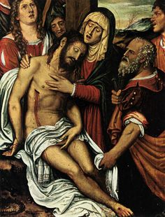 Sts. Joseph of Arimathea & Nicodemus. Assisted Mary & received the body of Jesus taken down from the Cross, wrapped it in a shroud & placed it in the sepulchre. Joseph, a noble official & disciple of the Lord, was seeking the Kingdom of God; Nicodemus, a member of the Pharisees & a ruler among the Jews, came to Jesus by night to inquire of His mission & defended Him in the presence of the high priests & Pharisees who sought to arrest Him. Patron Saints of Undertakers.   Feast Day Aug 31…