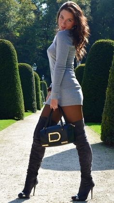 #Boots  dresses and skirt #2dayslook #new #tenderfashion  www.2dayslook.com