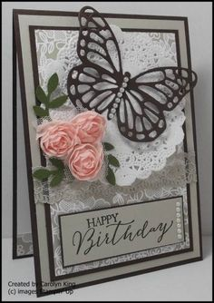 "Stampin' Up! ""Butterflies"" Framelits ..."