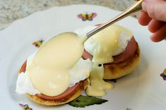 Pioneer Woman---Hollandaise Sauce made in the blender. Add to Eggs Benedict or scrambled eggs.