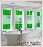 colored window film----ideas...ideas !!