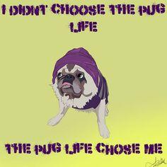 Pug Life on Behance