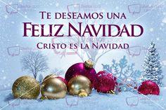 Te deseamos una Feliz navidad, Cristo es la Navidad #2
