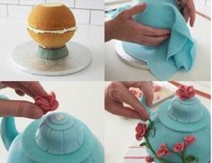 Teapot Cake Tutorial Watch The Easy Video Instructions