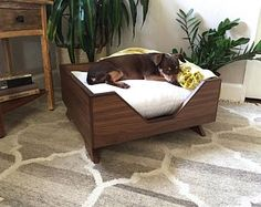 Square Angles Dog Bed