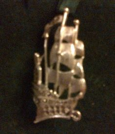 GALLEON STYLE, MARCQUISITE STUDDED BROOCH, VINTAGE 1970'S