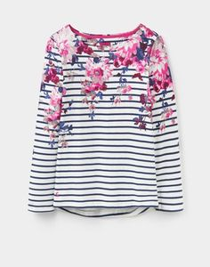 Joules Printed Harbour Top