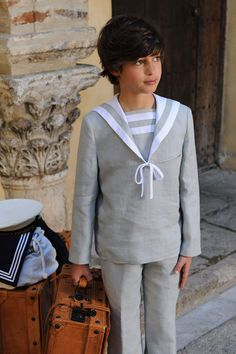 Comunion-josevaron Boy Models, Young Models, Teen Fashion, Fashion Outfits, Kids Photography Boys, Boy Hairstyles, First Communion, Little Dresses, 4 Kids