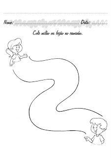 CANTINHO EDUCATIVO: ATIVIDADES INFANTIS - 3 A 4 ANOS