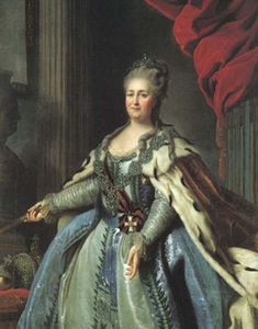There would be a meet and greet with Catherine the Great