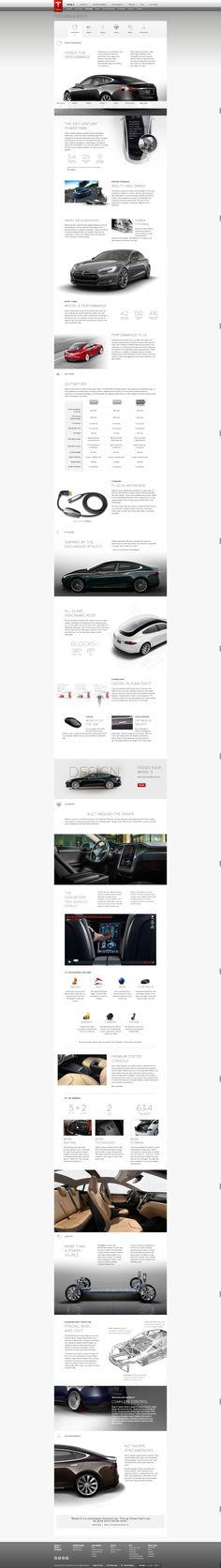 Model S Features Tesla Motors