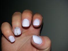 pastel lavender nails