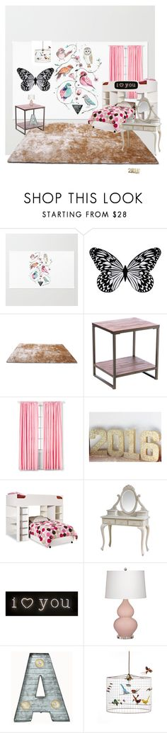 """Very Pink!!!"" by deandrea04 on Polyvore featuring interior, interiors, interior design, home, home decor, interior decorating, Visionnaire, Gold Sparrow, South Shore and Seletti"