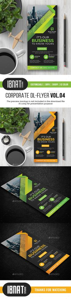 Buy Corporate DL Flyer by ibnat on GraphicRiver. File Information: DL Flyer Template Easy Customizable and Editable Print size: inches Final size: i. Psd Flyer Templates, House Landscape, Service Design, Photoshop, Simple, Creative, Green, Modern, Trendy Tree