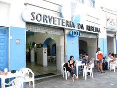 Sorveteria da Ribeira. Salvador Bahia, Brasil