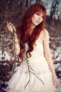 Lovely Long Red Hair