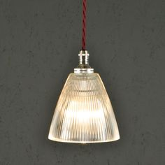 Prismatic Vintage Pendant Light