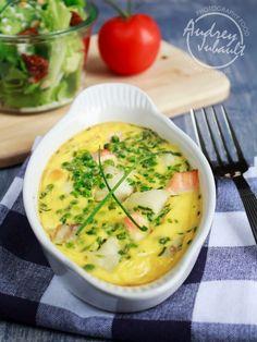 Clafoutis au cabillaud, saumon et petits-pois - Petit Bec Gourmand - Petit Bec Gourmand