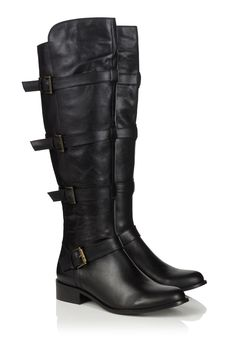 RARE! Men&39s 18&quot TALL Black Leather Wild Pair Campus BOOTS 12 The