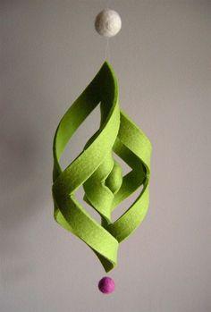 3D Felt Ornament