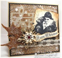 Linda Coughlin: Snowflake Rosette die - http://thefunkiejunkie.blogspot.com/2012/11/snowy-background.html#
