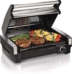 Indoor Grill Electric Smokeless Portable BBQ Kitchen Healthy Home Cooking NEW . Indoor Electric Grill, Indoor Grill, Indoor Outdoor, Electric Roaster, Outdoor Grilling, Outdoor Spaces, Bbq Kitchen, Small Kitchen Appliances, Kitchen Dining