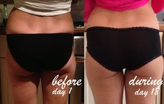 Squat Challenge - before and after