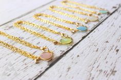Faceted Chalcedony Triple Chain Bracelets by adieslovelies, $14.99