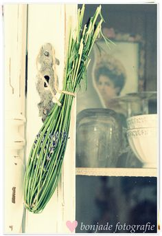my aunt @nancy tucker is the queen of making Lavender wands