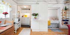 "swedish cottage (""koloniträdgård"") #kitchen #sleeping"