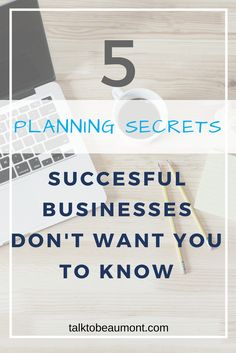 5 planning secrets that will make you more productive and help you grow your business. Don't leave planning on the bottom of your to-do list, learn these simple tricks from successful businesses. Corporate Communication, Writing Words, Copywriting, Growing Your Business, Want You, Planning, The Secret, Success, Messages