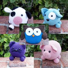 Hey, I found this really awesome Etsy listing at https://www.etsy.com/dk-en/listing/192334742/crochet-patterns-roly-poly-pattern-pack