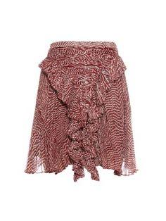 Meg ruffle-front skirt   Isabel Marant   MATCHESFASHION.COM AU