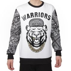 TIGER WARRIOR CREW SWEAT WHITE - That should be mine!