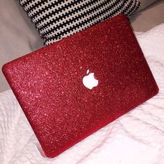 so pretty just like a unicorn Macbook Air, Apple Laptop Macbook, Coque Macbook, Apple Watch, Airpods Apple, Estilo Blogger, Laptop Covers, Red Glitter, Sparkles Glitter
