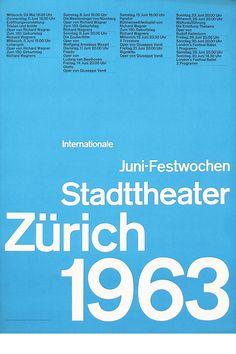 Josef Müller-Brockmann - Helvetica in the 60s