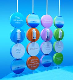 escaparate-nuria-tobar más ejemplos de escaparates de #farmacia en http://pinterest.com/farmagestion/