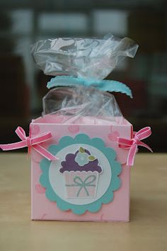 Julie's Japes - An Independent Stampin' Up! Demonstrator in the UK: Create a Cupcake